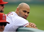 Albert Pujols, player for Los Angeles Angels of Anaheim, the latest elite athlete left sitting on the bench, thanks to plantar fasciitis