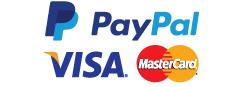 London Nail Laser Clinic accepts Mastercard Visa and PayPal through SagePay